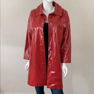 Michael Kors Car Length Rain Coat